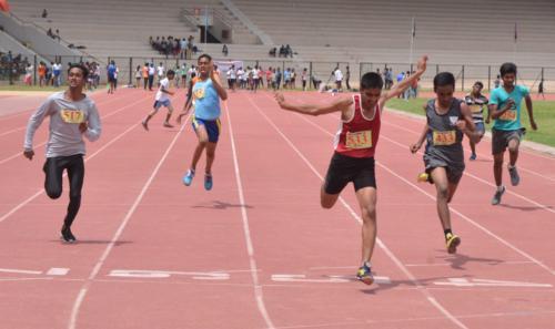 U-16 Years Boys 100 Meters
