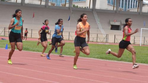 Womens 100 Meters Final